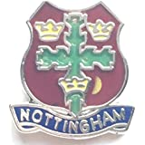 Lapel Pin Badge, Nottingham