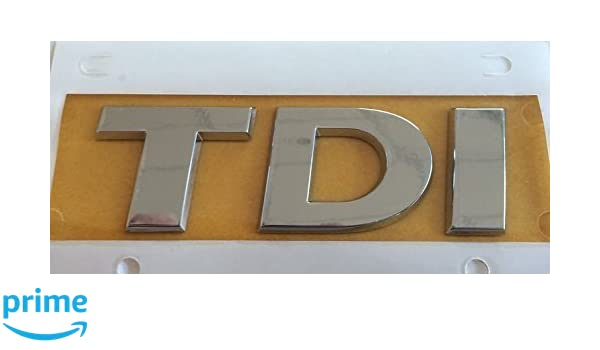 Dorigine Volkswagen Inscription TDI hayon Logo Embl/ème-Volkswagen 5G0853675D