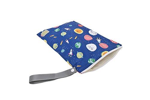 Preisvergleich Produktbild Itzy Ritzy Travel Happens Wet Tasche mit Griff, groß, Interstellare
