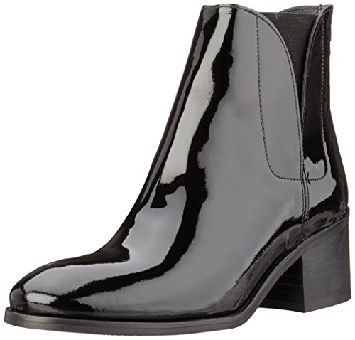 Buffalo London Damen Es 30761 Verniz Chelsea Boots Schwarz (PRETO 01)