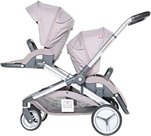 Red Castle Poussette Evolutwin, Taupe
