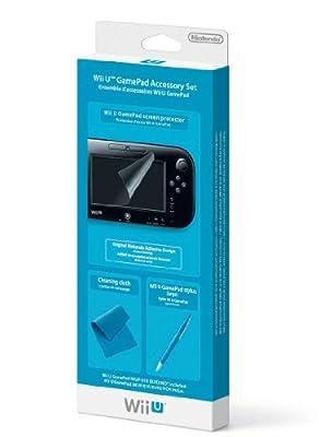 Nintendo Wii U GamePad Accessory Set (Nintendo Wii U) by Nintendo