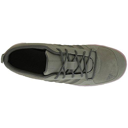 adidas Daroga Lea K, Chaussures de Sport Mixte Bébé Gris / blanc (gris anthracite uni / granit / violet lumineux)
