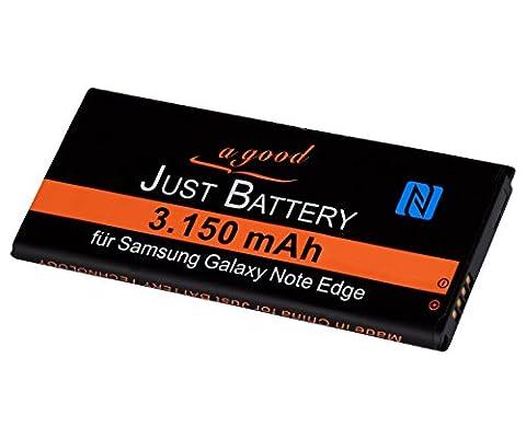 original JuBaTec Akku für Samsung Galaxy Note Edge SM-N915F mit NFC und 3150 mAh ersetzt EB-BN915BBC