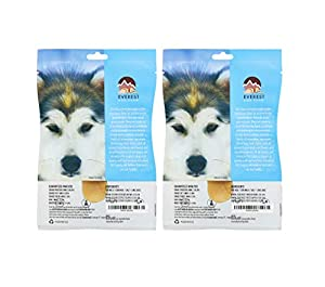 Yak Chew x 2 Value Pack, (Medium Dogs), Everest Dog Chew from Everest Dog Chew