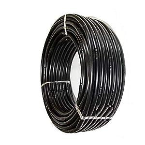 Pcriegos 02020-100 Tubería para Riego 16 mm con goteros Integrado a 20 cmts, Color Negro
