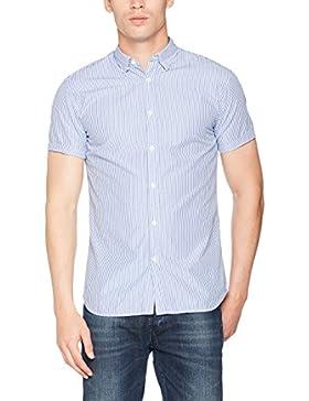 SELECTED HOMME Shhonelouis Shirt Ss Sts, Camisa para Hombre