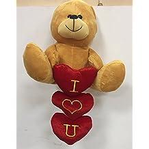 Oso de peluche con un corazón Diciendo TE QUIERIO, Regalos para el Día de San Valentín