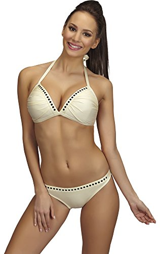 SHE Damen Bikini Set Molly Ecru (204)