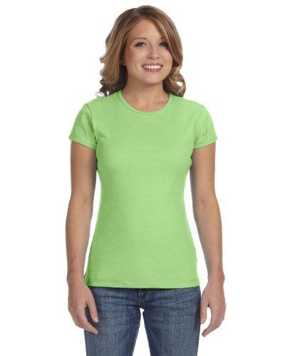 Monster Serie - Lagunen Monster auf American Apparel Fine Jersey Shirt 1Lime Wedge