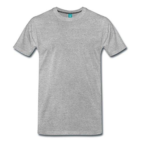 Engel Flügel Männer Premium T-Shirt von Spreadshirt®, M, Grau (Kostüm Engel Göttliche)