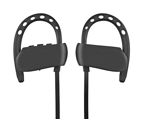 Shaveh Kabellose Kopfhörer, zwei Geräte angeschlossen sind gleichzeitige IPX5 Waterproof HD Stereo Schweiß-in-Ear In-Ear für Gym Running Workout Big Power Call dauerte 12 + Stunden Noise Cancelling Kopfhörer