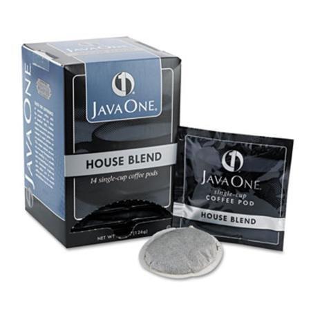 Kaffee Pods, House Blend, 1Tasse, 14/Box, verkauft als je 14