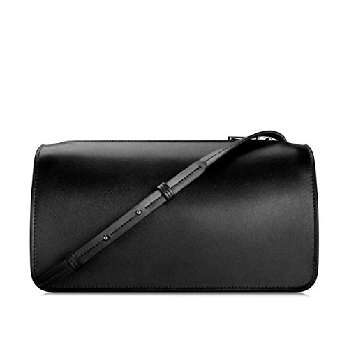 Zpfme Donna Messenger Bag In Pelle Moda Casual Borse A Tracolla Moda Donna Nero Shopper Bag Nero