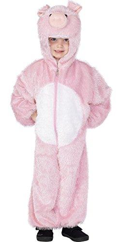 Imagen de smiffy de  cerdo del traje del traje del cerdo disfraz de animal. 98 104