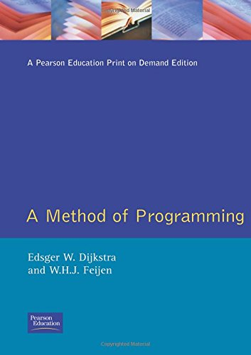Methods of Programming por Edsger W. Dijkstra