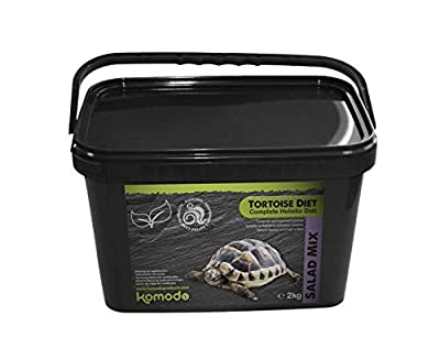 Komodo TORTOISE DIET, Salad Mix. Complete holistic food with calcium (Salad Mix, 2kg) from Komodo