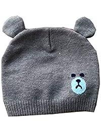 Bonnet Petit Bébé Enfant Chat Oreille Chat Casquette À Tricoter Enfants  Chapeau Chaud Bonnet Chapeau pour 2f6d06da2a4