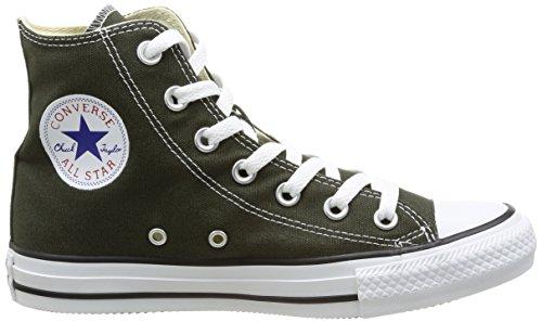 Converse Chuck Taylor All Star Hi, Baskets mode mixte adulte Vert (Vert Foncé)