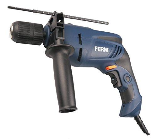 FERM Trapano a percussione 800W - 13mm - Velocità variabile - Impugnatura morbida