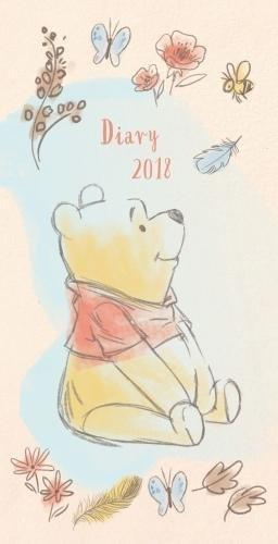 Winnie The Pooh Official 2018 Diary - Week to View Slim Pocket Format por Disney