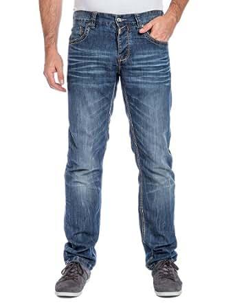 Timezone Herren Slim Jeans 26-5535 EduardoTZ, Gr. W29/L32, Blau (indigo water 3629)