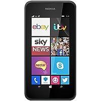 Vodafone Pay As You Go Nokia Lumia 530 Handset - Black, [Importado de UK
