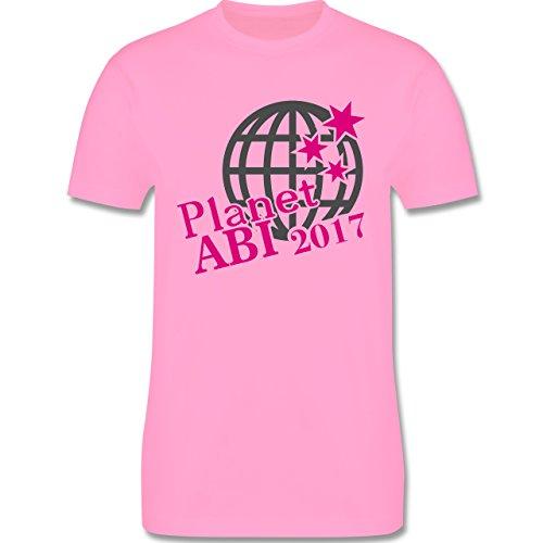 Abi & Abschluss - Planet ABI 2017 - Herren Premium T-Shirt Rosa