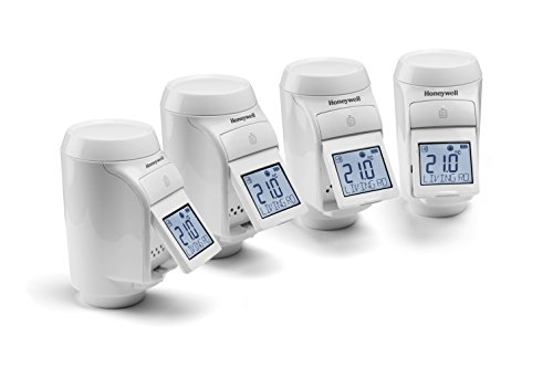 Tête thermostatique de radiateur pour système evohome, kit de 4 pièces, Honeywell Home