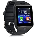 Bluetooth Smart Watch Compatible With All 3G , 4G Phone With Camera And Sim Card Support With Apps Like Facebook And WhatsApp Touch Screen Multilanguage Android/IOS Compatible With All Android, Samsung, IPhone , Lenovo, XIOMI, REDMI Oppo, VIVO, Motorola,I