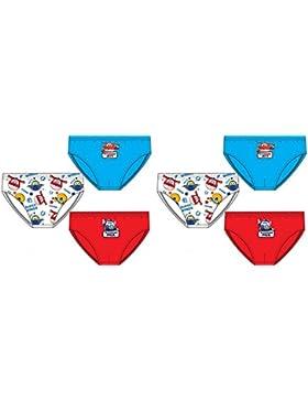 Pack de 6 slips diseño Super Wings (3 diseños diferentes) tallas 2/3, 4/5 y 6/8 años (100% algodon)
