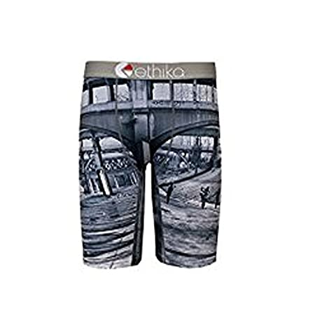 Ethika Men's The Staple Wheelie Gang Boxer Brief Underwear Gray 2XL (Gang Boxer)