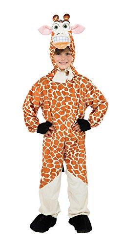Für Kinder Tier-maskottchen-kostüm (Bristol Novelty CC606Giraffe Kostüm, Mittel, 128cm)