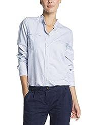 Maison Scotch Damen Bluse Gestreiftes Jacquard-Shirt