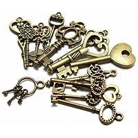 Bheem 15pcs assortiti Royal antico ciondoli chiave