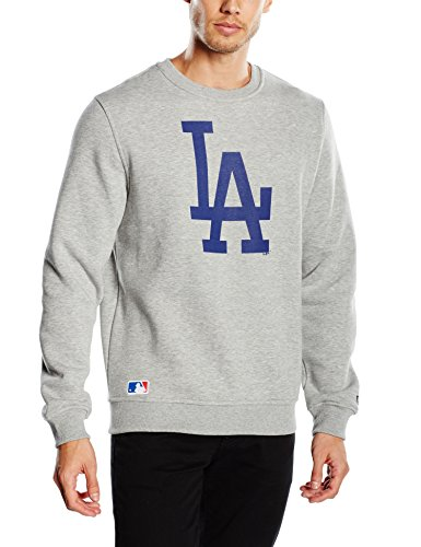 New Era - New Era MLB Crew Sweat LA Dodgers - Sweat-shirt Gris