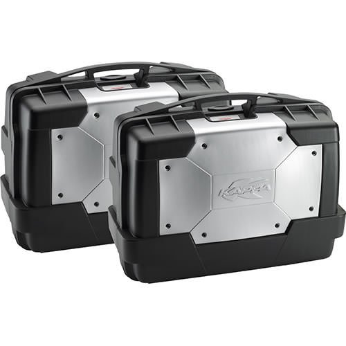 Kappa KGR33PACK2 Seitenkoffer Cover in Aluminium