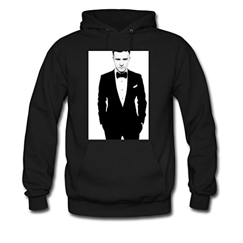 HKdiy Tuxedo Custom Classic Men Hoodie Black-1