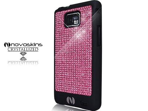 Samsung Galaxy S 2 II i9100 Novoskins Pink Crystal Chic Black (Schwarz) Luxe Hard Case SALE Am Start waren 28 €, jetzt Räumung.