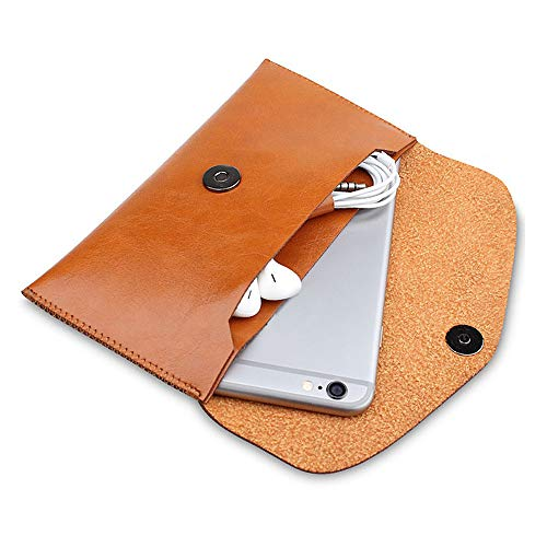 Women Mobile Wallet,Phone Clutch Purse,Phone Case Cover with Card Slots,Ladies Soft Leather Purse Credit Card Clutch Holder Long Wallets for iPhone 7/8 Plus/Samsung (Womens Card Credit Leather Case)