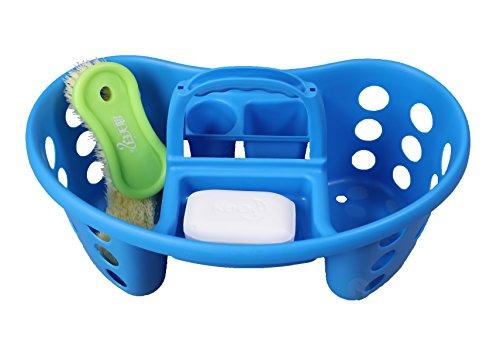 Tragbar Kunststoff Werkzeug und Reinigung Caddy, Blau