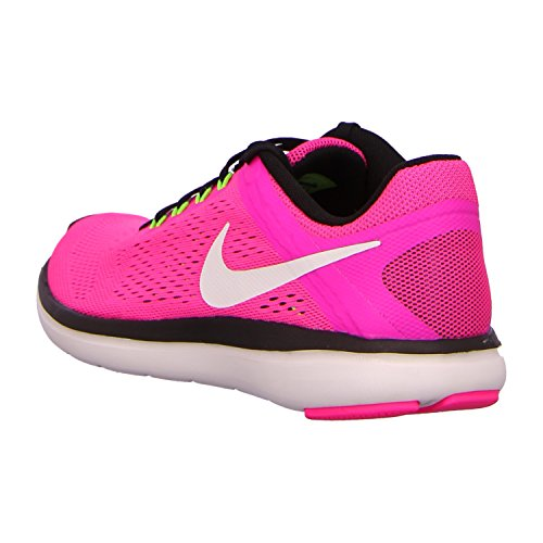 Nike Wmns Flex 2016 Rn, Baskets Basses Femme, UK Pink