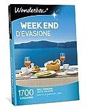 WONDERBOX - Cofanetto Regalo per Due - Week End D'EVASIONE - 1700 soggiorni in Hotel 4* e 3*, agriturismi e B&B per 2 Persone
