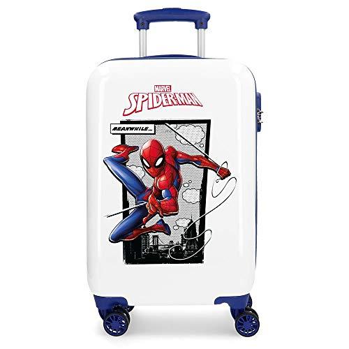 Maleta de cabina Rígida 55cm Spiderman Action