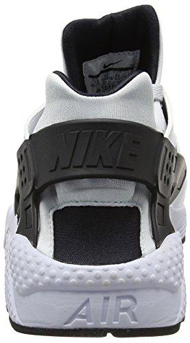 Nike Air Huarache, Baskets Basses Homme Blanc (White/pr Pltnm-pr Pltnm-black)