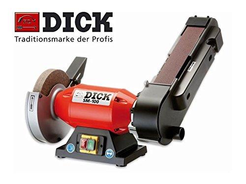 Dick Bandschleifmaschine SM - 100 Schleifgerät Bandschleifer Messerschleifer 98070000 Dick