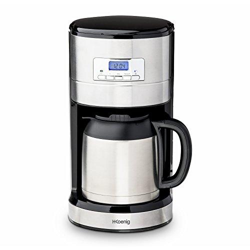 H.Koenig STW26 Macchina del Caffe con Filtro, 1000 Watt