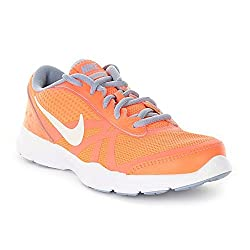 Nike Women's W Core Motion Tr 2 Mesh Sneakers Orange Size: 4 Uk