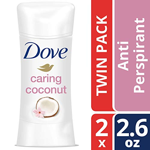 Dove Advanced Care Antiperspirant Deodorant, Caring Coconut, 2.6 Ounce, Twin Pack by Dove
