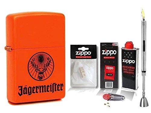 zippo-feuerzeug-jagermeister-orange-matte-zubehor-xl-stabfeuerzeug-chrome-brushed